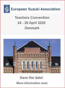 European Suzuki Teachers Convention DENMARK @ Århus, Denmark